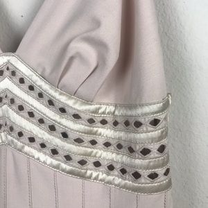 Catherine Malandrino Dresses - 🛍 Catherine Malandrino Champagne Pleated Dress 6